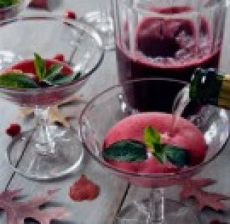 Bruisende Cranberry Cocktail