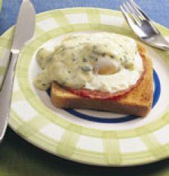 Egg Benedictine- Gepocheerd Ei Met Hollandaisesaus