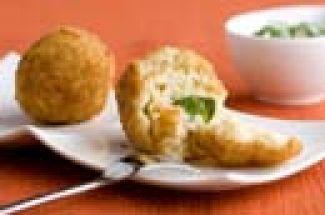 Rijstballetjes Gevuld Met Kaas