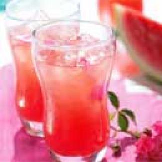 Limonade Van Watermeloen En Rozen