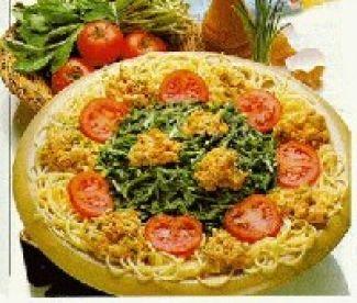 Spaghetti Met Raapsteeltjes En Roerei