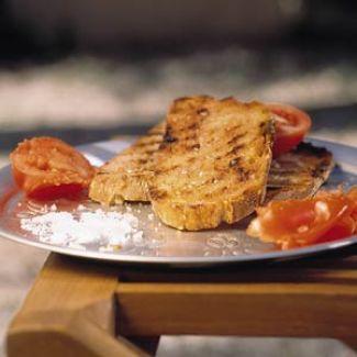 Knoflook Tomaat Brood