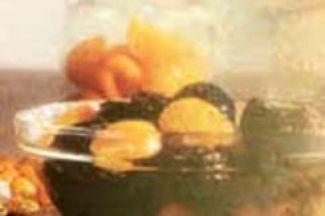 Broodschotel Met Appel En Rozijnen