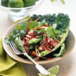 Salade Met Courgettes, Pistachenoten En Druiven