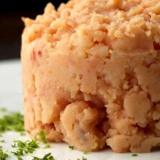 Roze Aardappelpuree
