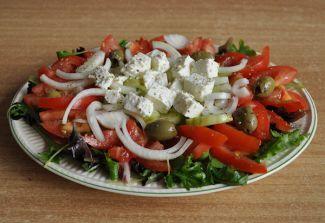 Heerlijke Frisse Griekse Salade!