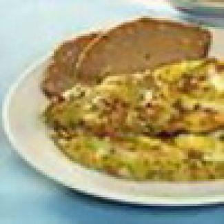 Omelet Met Pikante Tonijn