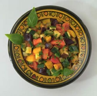 Griekse Courgettesalade